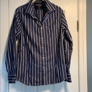 American Eagle size M striped shirt